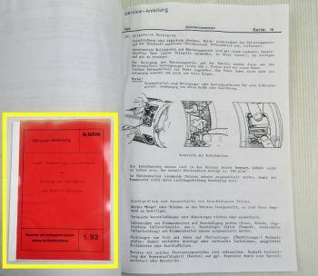 Irion Wartung Betrieb von Gleichstrommotoren Elektromotoren Service Anleitung 93