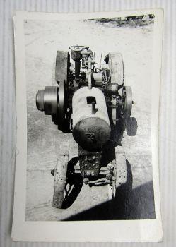 original Foto von IHC oder Lanz Schlepper Bulldog Traktor wohl um 1915