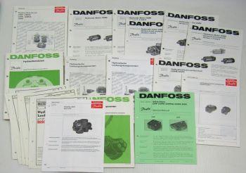 Danfoss Technische Daten Kataloge Spare Parts Hydraulik Motoren Lenkung