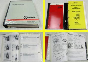 Kalmar DFQ100-D Service Handbuch Werkstatthandbuch Reparaturanleitung 1989