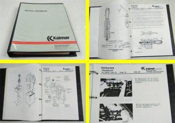 Kalmar DFQ100-D Service Handbuch Werkstatthandbuch Reparaturanleitung 12/89