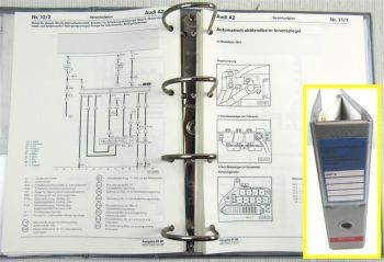 Reparaturleitfaden Audi A2 2001 Stromlaufpläne Schaltplan Elektrik AMF AUA
