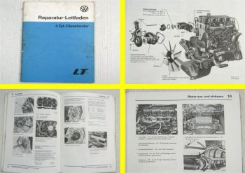 VW LT ab 1975 4 Zylinder Dieselmotor 2,7l CG Mechanik Reparaturleitfaden 1978