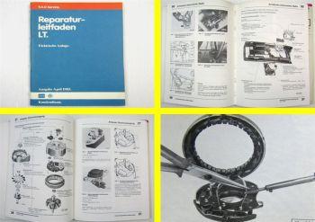 orig. VW LT 1975 - 1993 Elektrische Anlage Systeme Elektrik Reparaturanleitung