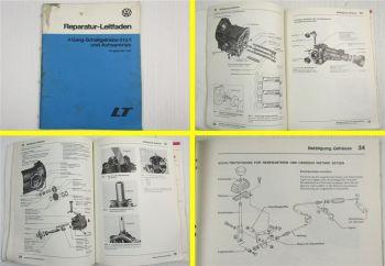 Reparaturleitfaden VW LT28 LT31 LT35  4 Gang Schaltgetriebe 015/I 1983