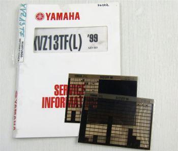 Yamaha XVZ13TF(L) 1999 Service Information Wartungsanleitung Reparaturanleitung