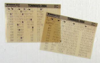 Reparaturanleitung Yamaha TDM900 (S) 2004 Wartungsanleitung