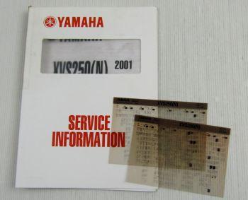 Yamaha XVS250 (N) 2001 Service Information + Wartungsanleitung