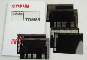 Yamaha TDM850 4TX 1996 -1999 Service Information + Wartungsanleitungen
