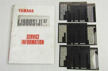Yamaha XJ900S Diversion 1995 - 1997 Service Information + Wartungsanleitungen