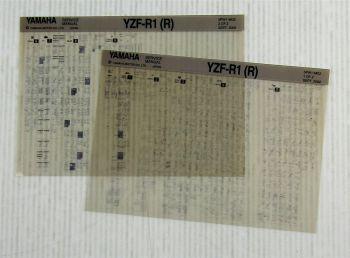 Yamaha YZF-R1 (R) 2002  Wartungsanleitung Reparaturanleitung