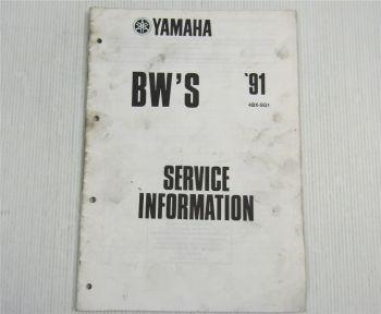 Yamaha BWS CY50 Service Information 1991