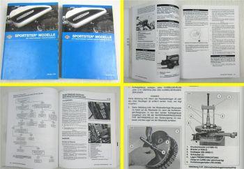 Harley Davidson Sportster XL 883 1200 C L R Reparaturanleitung Diagnose 2007