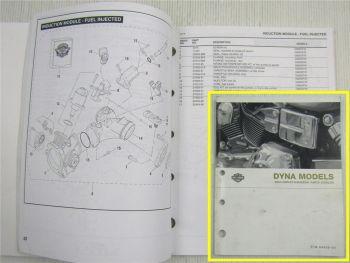Ersatzteilliste Harley Davidson DYNA FXD Models Parts List Catalog 2004
