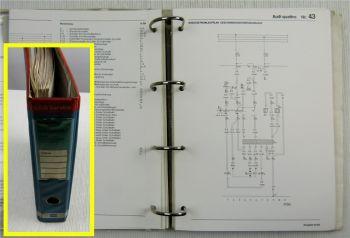 Werkstatthandbuch Audi Quattro Urquattro 1980-1991 Stromlaufpläne Elektrik 1-59