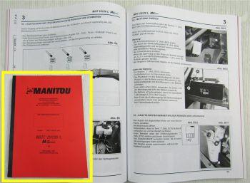 Manitou MHT 10120L M Series Bedienungsanleitung Betrieb Wartung Ersatzteilliste