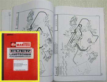 Manitou MLT 741 742 Serie 2-E2 Catalogo Ricambi Parts LIst Ersatzteilliste 5/03