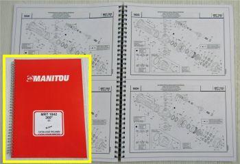Manitou MRT1842 M Series E2 Parts LIst Catalogo Ricambi Ersatzteil-Bildkatalog