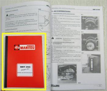 Manitou MRT2145 Comfort Line Betriebsanleitung Bedienungsanleitung Wartung 2000
