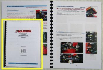 Manitou MHT 780 860 950 1072 HT LT E3 Betriebsanleitung Bedienungsanleitung