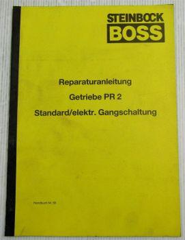Steinbock Boss Getriebe PR2 Borg Warner Reparaturanleitung Werkstatthandbuch