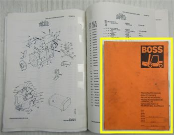 Boss 567.15-5C2 Stapler Ersatzteilliste Parts List  Catalogo Parti Pieces 1996