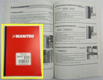 Manitou MLT 627 Compact Turbo Betriebsanleitung Bedienungsanleitung 12/2006