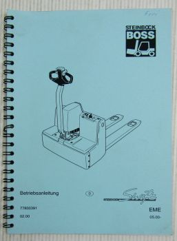 Steinbock Boss EME Swift Bedienungsanlaitung Betriebsanleitung 2/2000