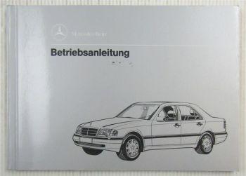 Mercedes Benz C-Klasse C 180 220 280 + C200 Diesel Betriebsanleitung 12/92