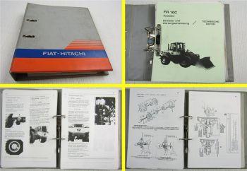 Fiat-Hitachi FR 10 9  7 C Radlader Betriebsanleitung Bedienungsanleitung Wartung