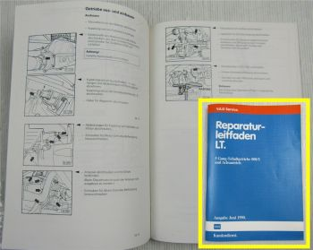 Reparaturanleitung VW LT 1 ab 1982 008/I 5-Gang Getriebe Werkstatthandbuch 1990