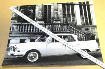 Original Borgward P100 Großer Borgward 2,3l Limousine 1959 Foto Nr.5/201