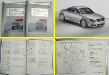 Reparaturleitfaden Audi TT Coupe 1,8l Turbo Motor AJQ 132 kW Mechanik + Motronic