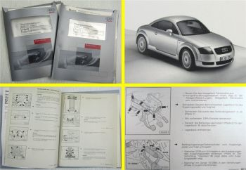 Reparaturleitfaden Audi TT 8N 5/6Gang 02M Getriebe Achsantriebe DQB DXW EFY EHR