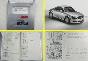 Reparaturanleitung Audi TT 8N 1999 5 Gang Getriebe 02J Werkstatthandbuch
