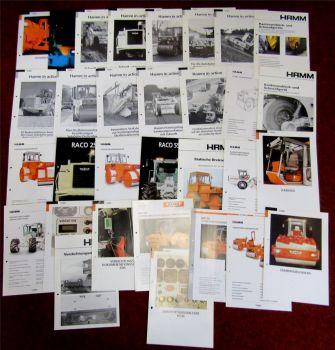 29 Prospekte Daten Hamm in aktion Raco Walzen aus den 90er und 2000er Jahren
