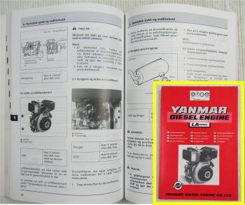 Yanmar LA Serie Dieselmotor Bedienungsanleitung Operation Manual Driftshandbok