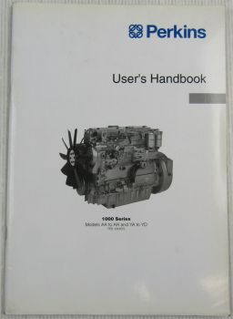 Perkins Engine 1000 Series AA - AH YA - YD Users Handbook Manual Del Usuario