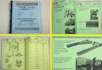 Peiner SMK 203/1 Turmdrehkran Betriebsanleitung Ersatzteilliste 1994