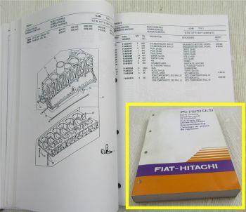 Fiat Hitachi FH330.3 Ersatzteilliste Parts List Catalogo Parti di ricambi 1995