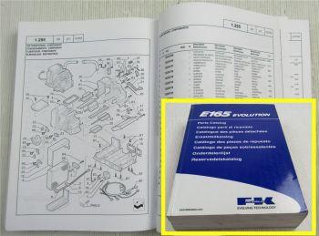 FK Fiat Kobelco 165 Evolution Ersatzteilliste Parts List Pieces Detachees 2004
