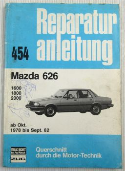 Mazda 626 Reparaturanleitung ab 1978 - 1982 Bucheli Band 454 Typ CB2