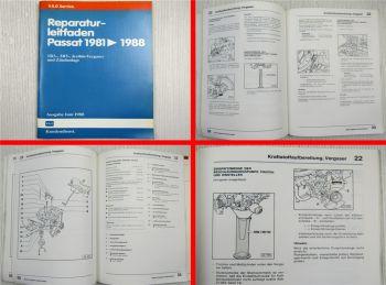 Reparaturleitfaden VW Passat 1981-1988 32B 1B3 2B5 Keihin-Vergaser Zündanlage