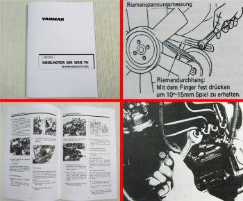 Yanmar TN Serie Dieselmotor Bedienungsanleitung 2TNE 3TNE 4TNE