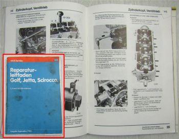 Werkstatthandbuch VW Golf I Jetta Scirocco 14D 1,5l 1,6l Dieselmotor CK CR CY JK