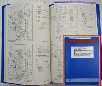 Reparaturleitfaden VW Lupo 6E Werkstatthandbuch 1,4l Dieselmotor AMF 55 kW 1999