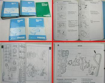 Reparaturanleitung Mazda 121 Typ JASM JBSM ab 1996 Werkstatthandbuch Schaltplan