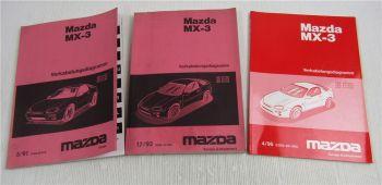 Mazda MX-3 Schaltplan Elektrik 1991 - 1996 Stromlaufpläne Kabelbaum