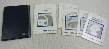 Ford Escort MK7 Bedienungsanleitung Betriebsanleitung Wartung 1998