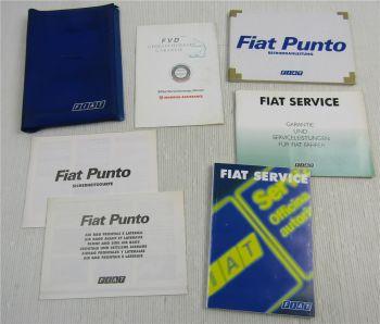 Fiat Punto 188 Betriebsanleitung Bedienungsanleitung Serviceheft 5 / 2001